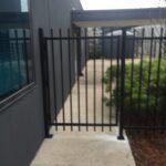 Black spear top gate