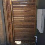Merbau gate with 10mm spacings