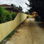 Standard 1.95 timber paling fence (1)